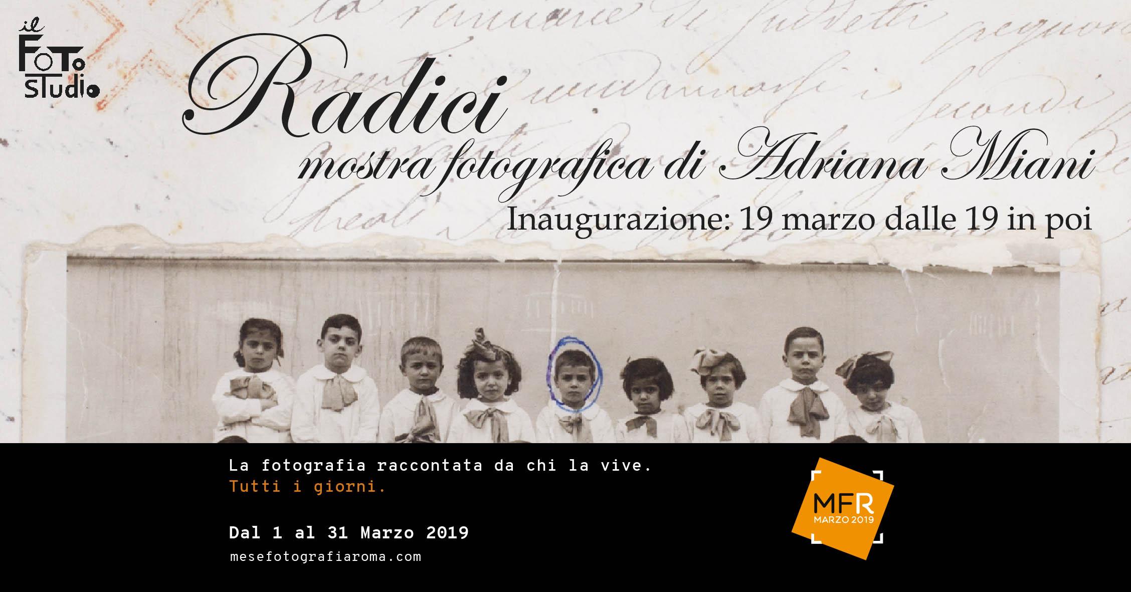 """""""Radici"""" di Adriana Miani"""