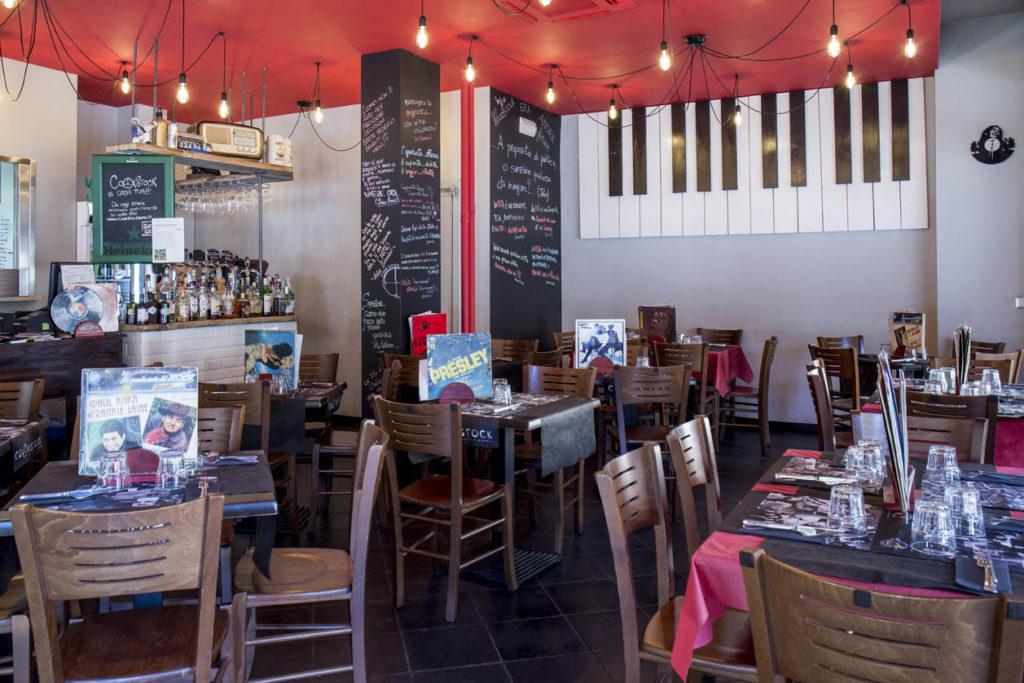 Cookstock: foto agli interni del ristorante