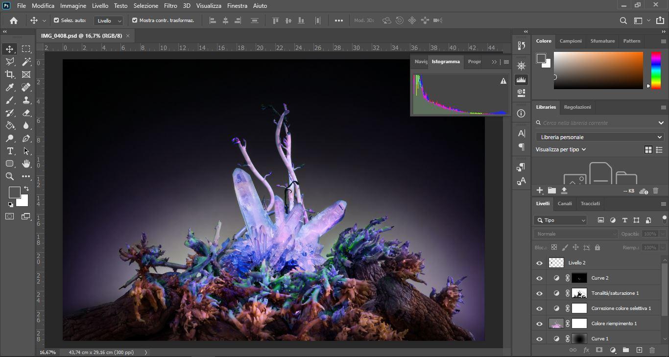 Corso online di postproduzione (Camera raw e Photoshop)