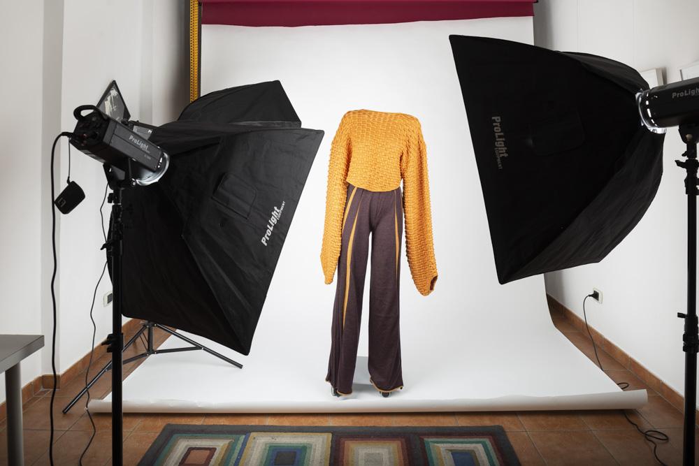 Shooting fotografico di moda per e-commerce